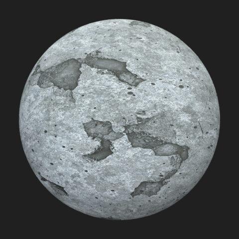 Grunge concrete material PBR