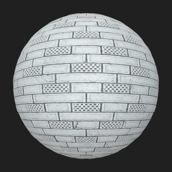 concrete wholes brick free texture