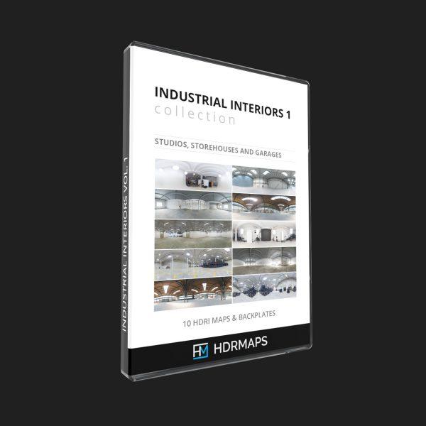 storehouses garages hdri maps