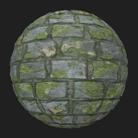 mossy pavement texture free