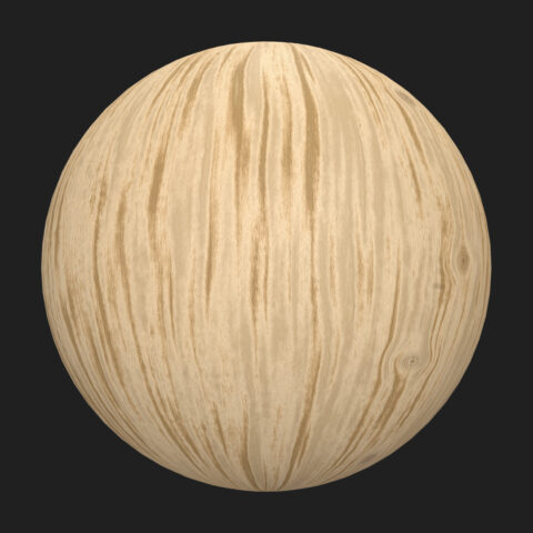 Solid bright wood material