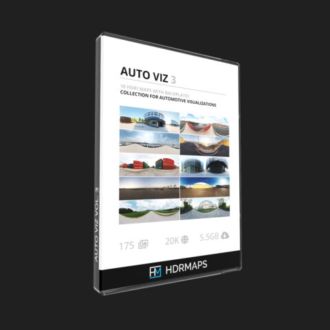 hdri pack for autoviz with backplates