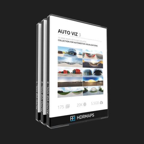 auto viz hdri pack 30 hdri maps and backplates