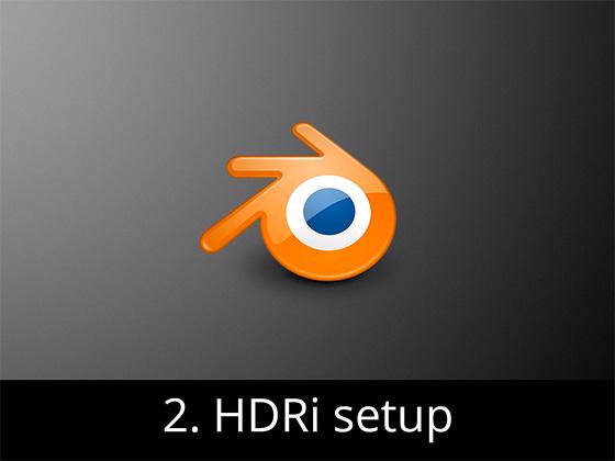 Blender HDRI setup