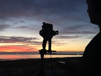 Winter hdri shooting in Spain