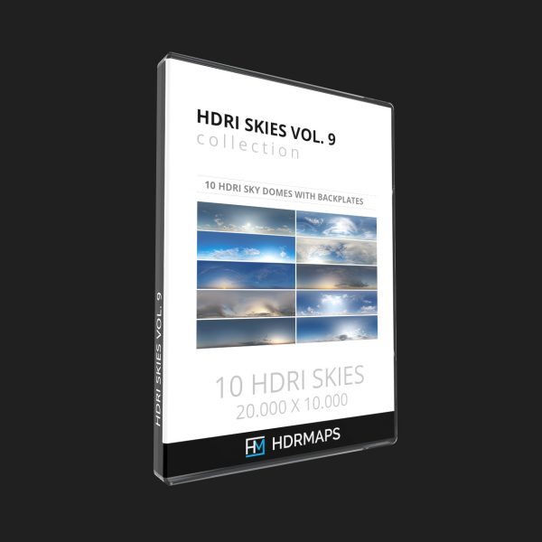 hdri sky domes vol 9 bundle