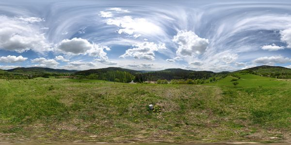 hdri nature map