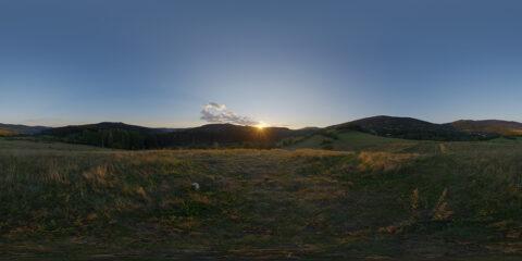 sunset hdri map