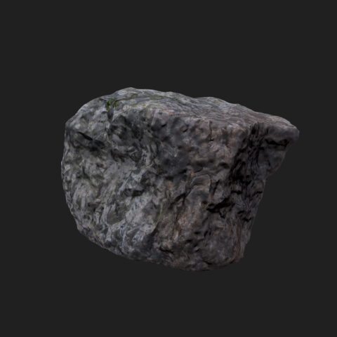 stone 005 3D scan