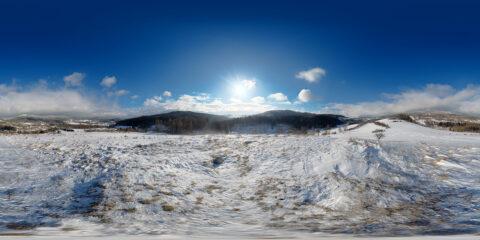 winter hdri map