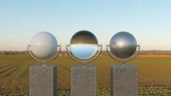 corona renderer sunset hdri test
