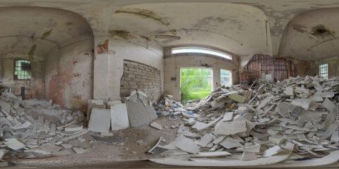 waste room hdri map