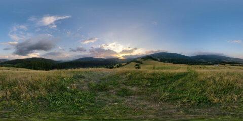 hdri sky map sunset hdri