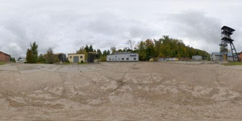 HDRI map concrete yard